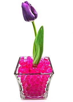 5 gallons pink vase filler gel water