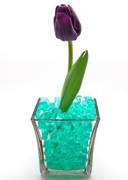 5 GALLONS Teal Craftsprite Vase Filler Gel Water Beads  Free