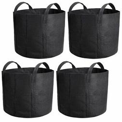5 Pack Grow Bags Fabric Pots Root Pouch with Handles Plantin