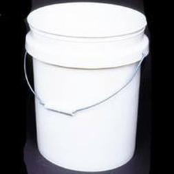 Lot of  New Encore Plastics 50640 White 5 Gallon Empty Pail