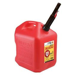 5600 5 gallon vented 2 handle midwest gas can w/ FREE flow f