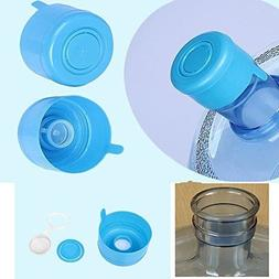 387e33c114a 5PCS 55mm 3 and 5 Gallon Replacement Water Bottle Snap On Ca