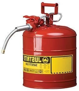"""Justrite 7250120 AccuFlow 5 Gallon, 11.75"""" OD x 17.50"""" H Gal"""
