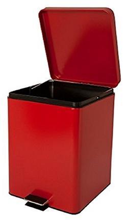 "McKesson 81-35270 Entrust Waste Can, Steel, Square, 17-1/4"""