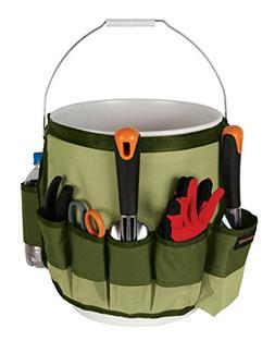 Fiskars 9424 Garden Bucket Caddy 5 Gallon Yard Tool Carrier