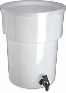 Carlisle 221002 Polyethylene Round Beverage Dispenser, 5 gal