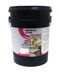 Diamond Brite Paint 21450 5-Gallon Semi Gloss Latex Paint An