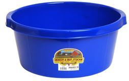 LITTLE GIANT All-Purpose Tub, 6.5-Gallon, Blue
