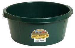 LITTLE GIANT All-Purpose Tub, 6.5-Gallon, Green