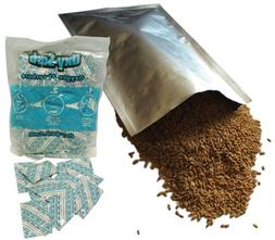 Set of 10 Dry-Packs 5 Mil 5 Gallon Mylar Bags with 2000cc Ox