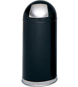 Wholesale CASE of 2 - Safco Dome Top Receptacles-Dome Top Re