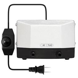 VIVOSUN 285 GPH Air Pump 9.5W 4 Outlet 18 Liter/Min for Aqua