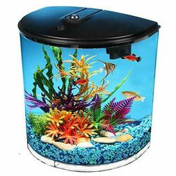 AquaView 3.5-Gallon Fish Tank with Power Filter and LED Ligh