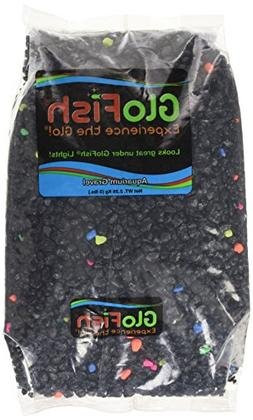 GloFish Aquarium Gravel, Black with Fluorescent Accents, 5-P