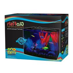 GloFish Aquarium Kit 5 gallon Fish Tank - 5x Tetra Whisper F