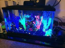 GloFish Aquarium Kit 5 gallon Fish Tank - Tetra Whisper Filt