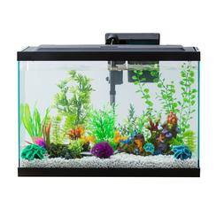 Aquarium Starter Kit Fish Tank Gallon With LED Lighting Aqua