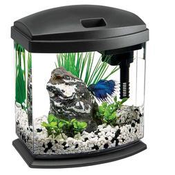 Aquarium Tank Kits LED Lighting Fish Size 1 Gallon Aqueon St