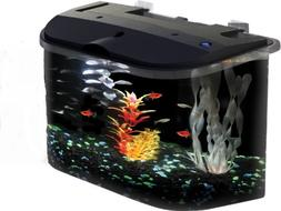 KollerCraft Aquarius GloFish Aquarium Kit with LED Lighting