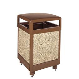 Rubbermaid Commercial Aspen Trash Can with Rigid Plastic Lin