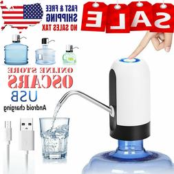 Auto Electric Water Pump Dispenser Gallon Bottle Drinking US