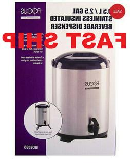 Focus BD95SS 9.5-liter Insulated Beverage Dispenser, Stainle