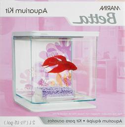 Marina Betta Aquarium Starter Kit, Flower