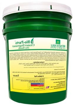 Renewable Lubricants Bio-Parts Soy Cleaner/Degreaser, 5 Gall
