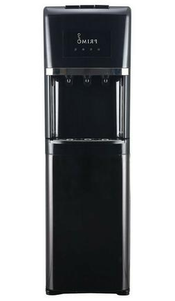 Primo Black Stainless Steel 3 Spout Bottom Load Cold, Cool a