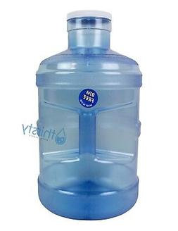 BPA Free 5 Gallon Water Bottle Plastic Container Big Cap Jug