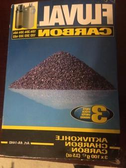 FLUVAL CARBON 100-gram NYLON BAGS-3-PACK BASIC PACK