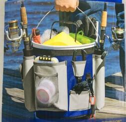 Charter Marine 5 Gallon Bucket Bag Includes 2 Fishing Rod Ho
