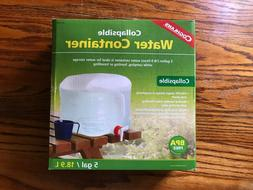 coghlan s collapsible water container 5 gallon