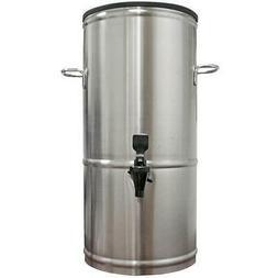 5 Gallon Iced Tea Beverage Dispenser Stainless Server Urn T5