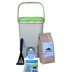 Kitchen Compost Collector, for Indoor and Outdoor use, Barre