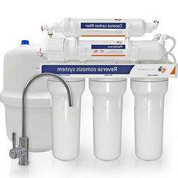 Aquaboon 75 Gallons Per Day 5 Stage Home Drinking Reverse Os
