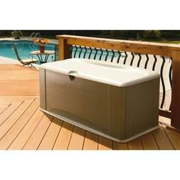 Rubbermaid 121 Gallon Deck Box with Seat