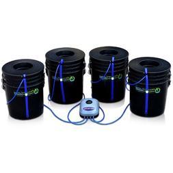 Deep Water Culture  Hydroponic Bubbler Bucket Kit by PowerGr