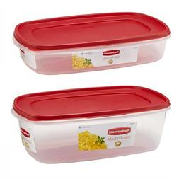 Rubbermaid Easy Find Lids Food Storage Container 1.5 Gallon