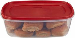Rubbermaid Easy Find Lids Food Storage Container, 2.5 Gallon