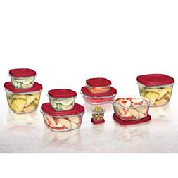 Rubbermaid Easy Find Lids Food Storage Container, 24-piece S