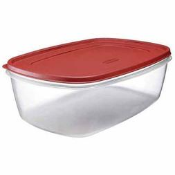 Rubbermaid Easy Find Lids, 2.5-Gallon, Red