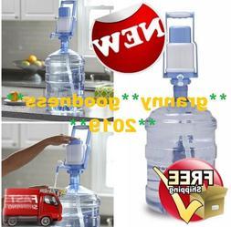 Easy Manual Hand Press Dispenser Water Pump 3 to 5 Gallon Bo