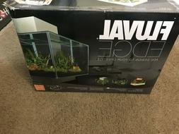 Fluval Edge 6-Gallon Aquarium with LED Light Burnt Orange