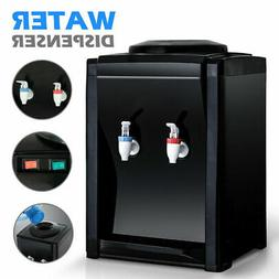 Electric Hot Cold Water Cooler Dispenser 2-5 Gallon Top Load