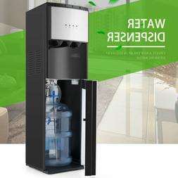 Black Hot/Cold Water Cooler Dispenser 5 Gallon Bottom Loadin