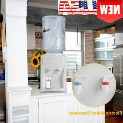 Electric Water Dispenser Hot Cold Cooler 3-5 Gallon Home Off