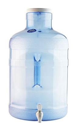 New Wave Enviro 5 Gallon Round Bpa Free Big Mouth Dispenser