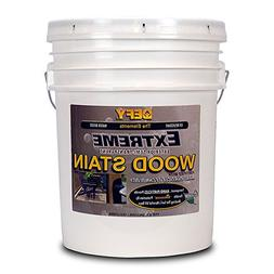 DEFY Extreme 5 Gallon Semi-Transparent Exterior Wood Stain,