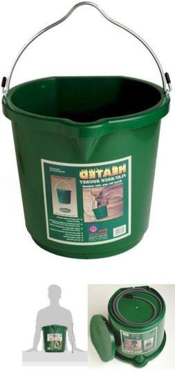 Farm Innovators FB-120 5GAL Heated Flat Bucket - Quantity 8